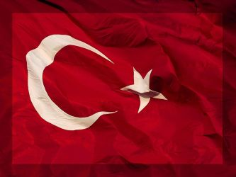 Turkish Flag - Wallpaper by bbokeer