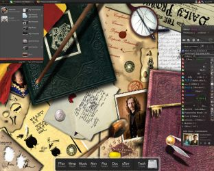 Harry Potter Desktop by Nessy01