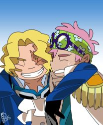 Sabo and Coby by bailian