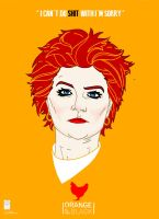 Orange Is The New Black: Red by e-carpenter
