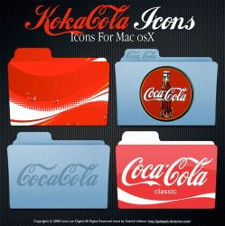 Koka Cola Icons by igabapple