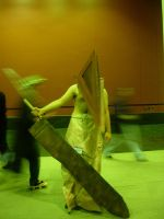Pyramid Head by potterpuppetpal
