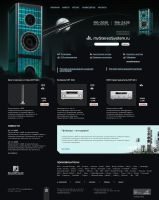 my stereo system night version by iji-design