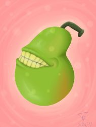 The Almighty Pear by Chicaenllamas
