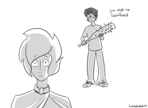 101 Ways Pink Diamond Could've Been Shattered: 019 by LittleSnaketail