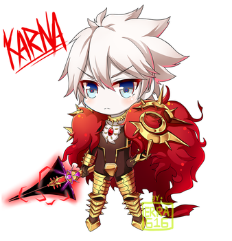 Karna Fate/Extra CCC by Erra616