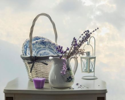Still life in the style of Provence by Daykiney