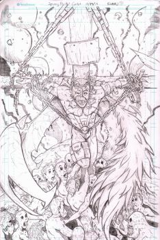 Spawn 250 contest pencils by BrandonBlanks