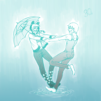 100 JoJo - 30. Under the Rain by FerioWind