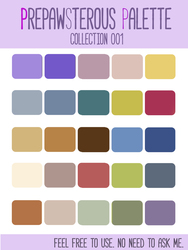 :PrePAWSterous Palette 1(Free use): by PrePAWSterous