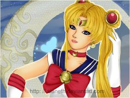 + Sailor Moon + by Sianeth