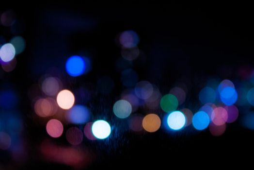 Night bokeh by ManicHysteriaStock