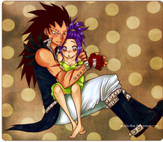 Gajeel x Levy - These Scars by acidic-fire