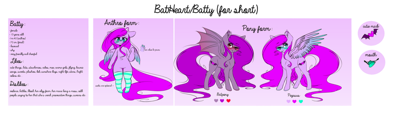 Batty final ref by FafaMeow