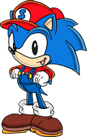 Sonic the Plumberhog by Tails19950