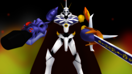 Royal Knights: Omnimon by GuilTronPrime