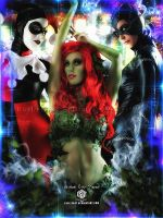 Gotham City Sirens by EvyLeeArt