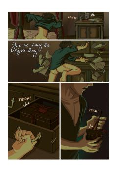 Mias and Elle Prologue: Page 04 by StressedJenny