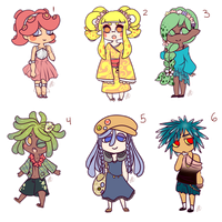 [OPEN 2/6] Splatoon Adopts Batch 1 by xStarlightAdoptsx