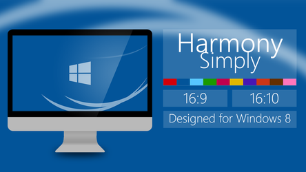 Harmony Simply - Wallpaper for Windows by MilesAndryPrower