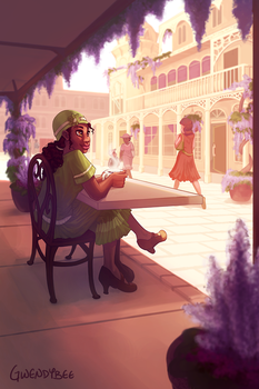 Tiana's Place by gwendybee