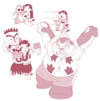 Lilo Stitch and Jumba - events by Lullaby-of-the-Lost