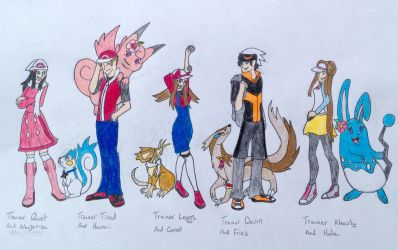 Marriland's pokemon challenges part 1 by Mahogany-Dragon