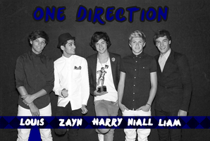 One Direction Blue by iluvlouis