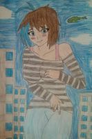 Aeris the Giantess! (Gift) by The-Russian-Loli