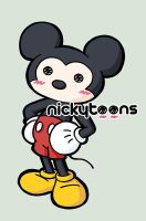 Mickey Mouse by NickyToons