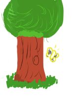 Sketch challenge: tree by yugiohfreakXD