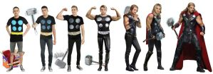 Instant Halloween Costume: Feelin' Mighty Thor by CrisKane