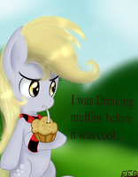 Hipster Derpy. by FreeFraQ