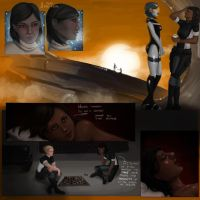 Mass Effect: The last good days by AlanaKai