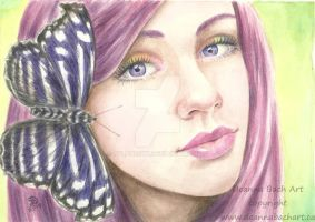 The Butterfly Painting by sylph7sky