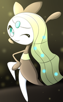 Meloetta by DarkrexS