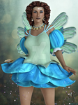 Blue Fairy God Mother by CaperGirl42
