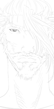 Hanzo sketch-Overwatch by CameronWasTaken