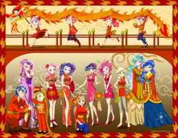 MLP Happy Chinese New year by NancySauria