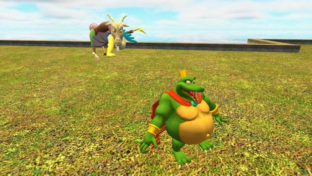Discords Manipulation of King K. Rool by z3r0332