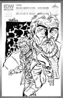 Doctor Who - the War Doctor Sketchcover Commission by ElfSong-Mat