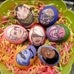 Mass Effect: Andromeda Eggs by Red-Flare