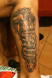 biomeccanic tattoo,ohlins by racujia
