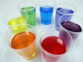 Rainbow in a Plastic Cup by nebnot