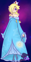Super Mario Galaxy - Rosalina by ClockworkArts