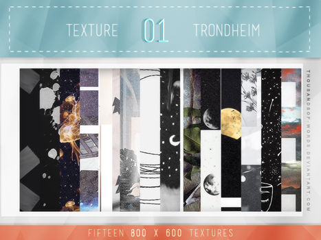 TEXTURE PACK 01 | Trondheim by herrondale