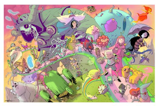 EPIC ADVENTURE TIME by RM73