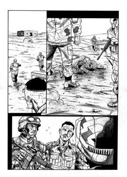 EOD Soldiers 01 - page - 26 ink by furuzono