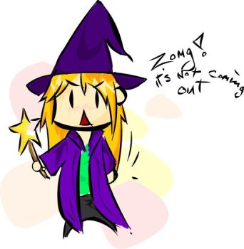 'lil Witchy doesn't Sparkle by ZeBlackCat