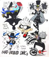 Hard-Boiled Dark Mate Clans! by komi114